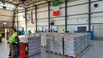 Ponad 20 tys. litrów płynu dezynfekcyjnego. Transport z Polski dotarł do Werony