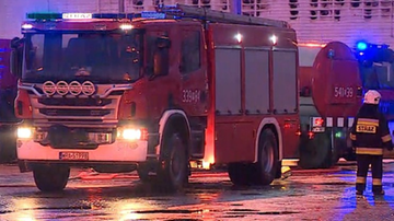 Pożar w budynku socjalnym w Ostrowie Wlkp. 54-letni mężczyzna zginął w płomieniach