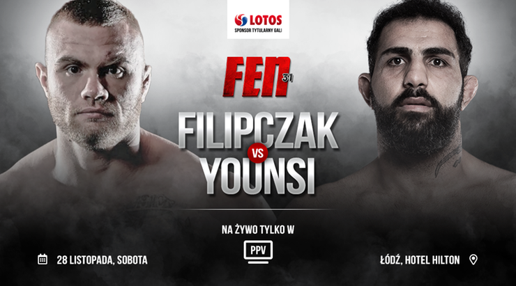 FEN 31: Marcin Filipczak i Saeed Younsi zamykają kartę walk