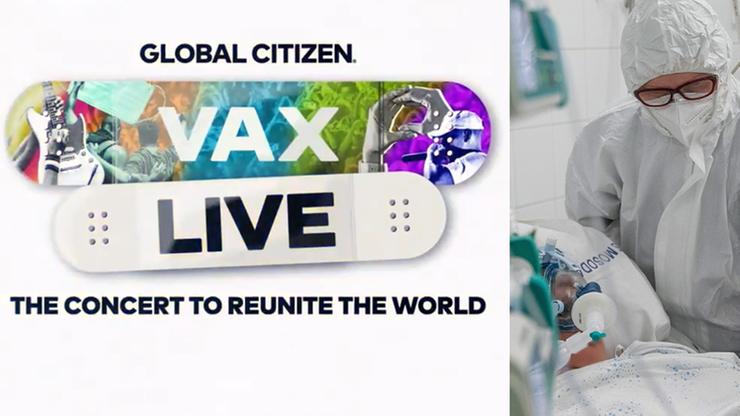 "Meghan i Harry, Bidenowie, Jennifer Lopez. Charytatywny koncert ""Vax Live"""