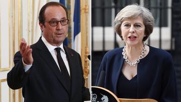 Hollande apeluje do nowej brytyjskiej premier: rozpocznijmy jak najszybciej negocjacje ws. Brexitu