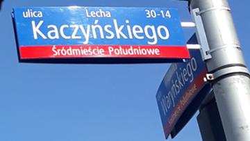 Ulica Kaczyńskiego wróci do stolicy. Propozycje Trzaskowskiego i PiS
