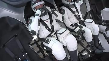 Historyczny lot w kosmos. Oglądaj na żywo w polsatnews.pl