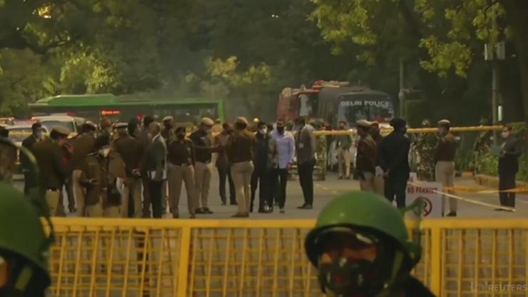 """Wybuch przed ambasadą Izraela w Indiach. """"Incydent terrorystyczny"""""""