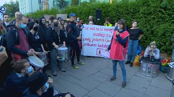 Protest pod siedzibą Straży Granicznej