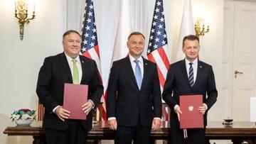 Umowa Polska-USA ws. obronności. Znamy jej zapisy