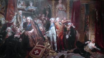 Matejko na jubileuszowej wystawie w Pałacu Sztuki w Budapeszcie