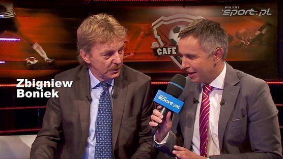 """Kulisy sportu mini: Zbigniew Boniek w """"Cafe Futbol"""""""