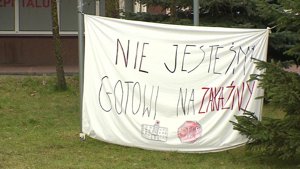 Interwencja - Przez koronawirusa zabrano im szpital. Protesty w Łomży