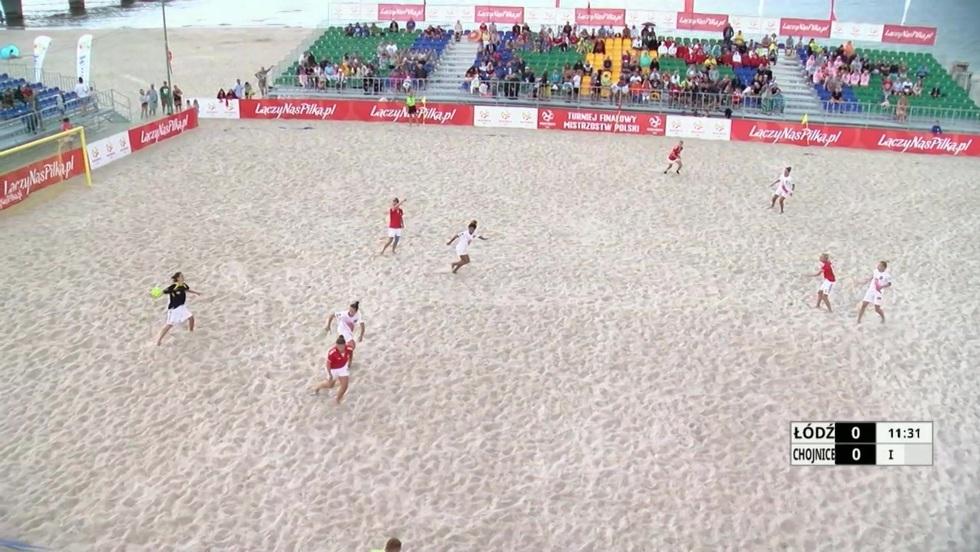 Piłka nożna plażowa: finał kobiet
