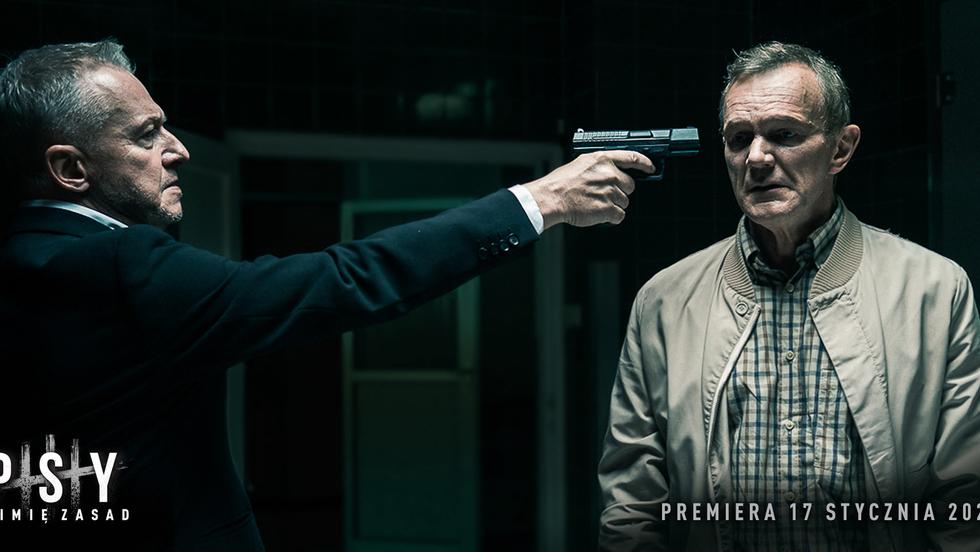 """Cezary Pazura o postaci Franza Maurera . """"Psy 3. W imię zasad"""" - w kinach od 17 stycznia 2020!"""