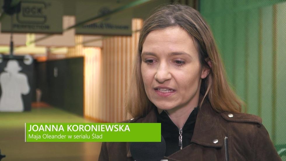 Joanna Koroniewska o przygotowywaniach do roli