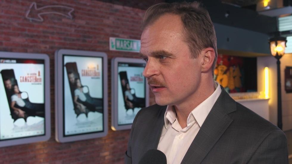 """Piotr Rogucki o swojej roli w filmie """"Jak zostałem gangsterem. Historia prawdziwa"""""""
