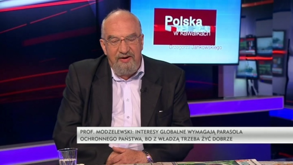 Polska w kawałkach Grzegorza Jankowskiego - prof. Witold Modzelewski